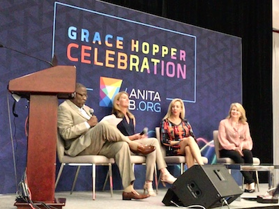 GHC 2018 - How Will Tech Power Up an Inclusive Workforce? panel