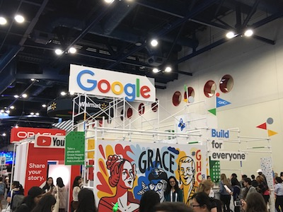 GHC 2018 - Google career booth